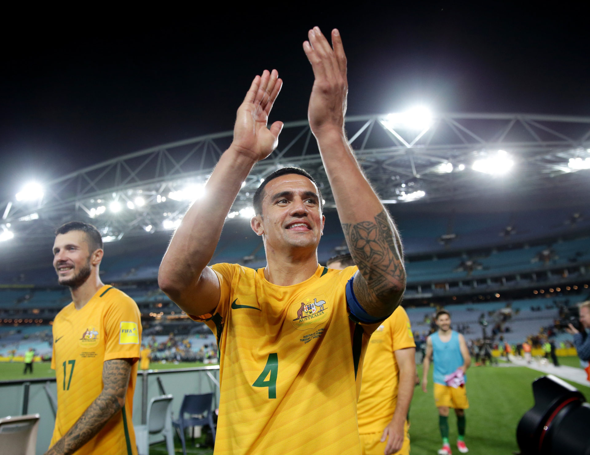 Tim Cahill to Pull on Socceroos Jersey One Last Time Against Lebanon this  Month de63ce4cd